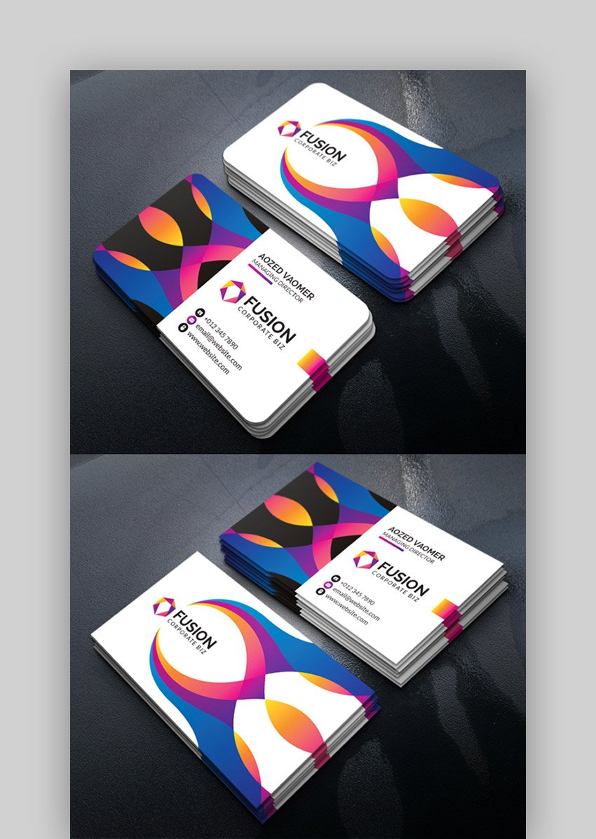 Best Background Color for a Business Card