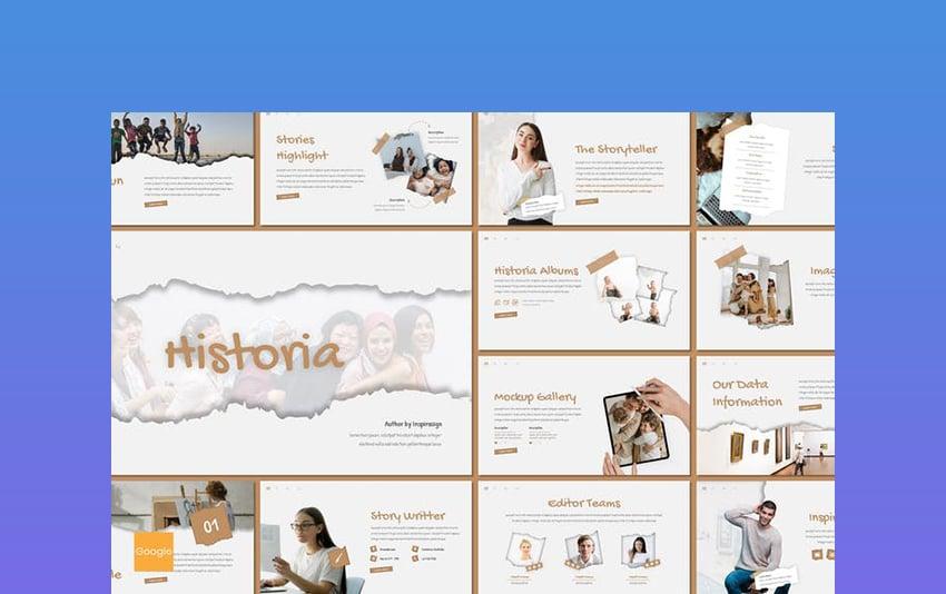 Historia - Google Slides History Themes