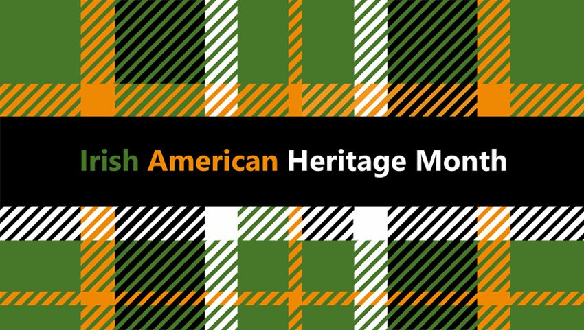 Free Irish American Heritage Month presentation