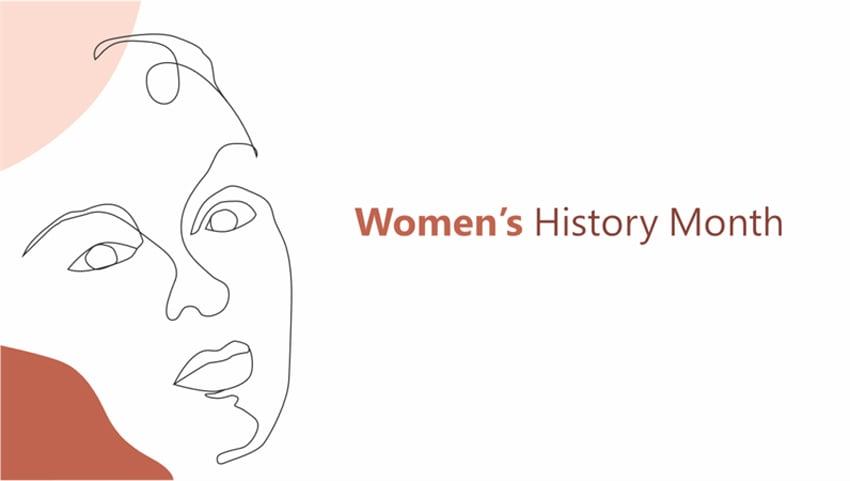 Free Women's History Month presentation