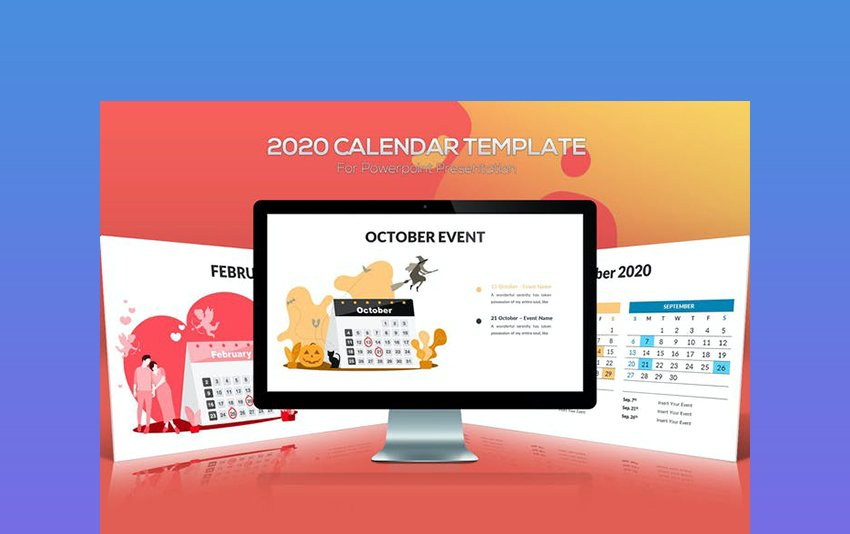 2020 Calendar Google Template