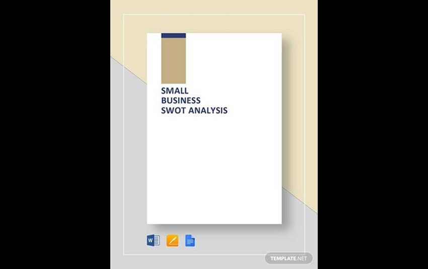 Free SWOT Template Word for Small Business