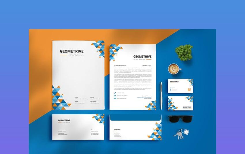 Branding Identity & Stationery Set