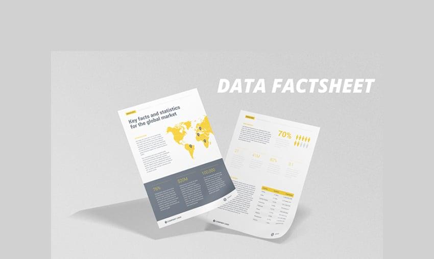Data Factsheet Brochure
