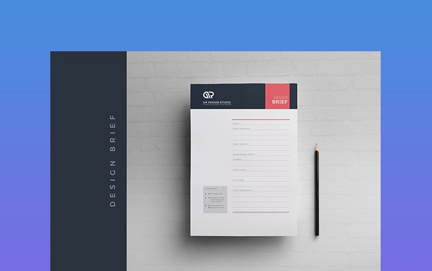 Design Brief - Project Outline Template Microsoft Word