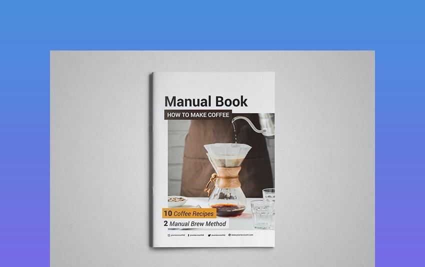 Coffee Recipes Template