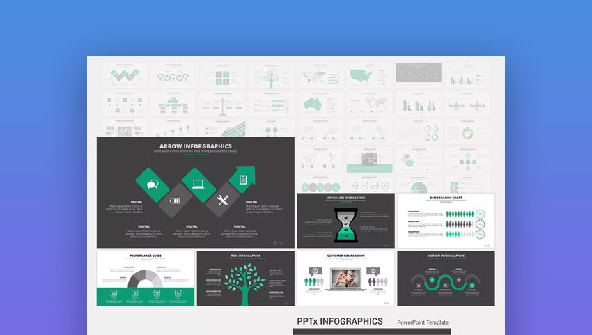 PPTx Infographic Template PPT