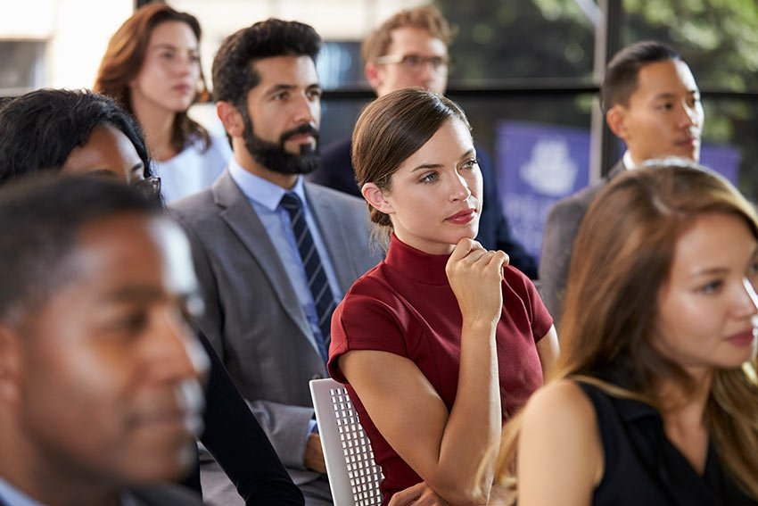 Its not easy to grab the rapt attention of an audience