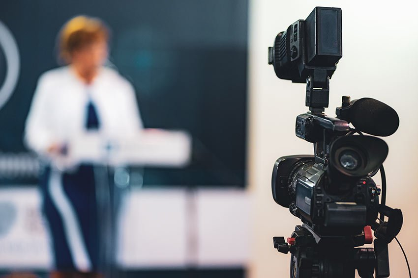Recording your presentation for practice and review