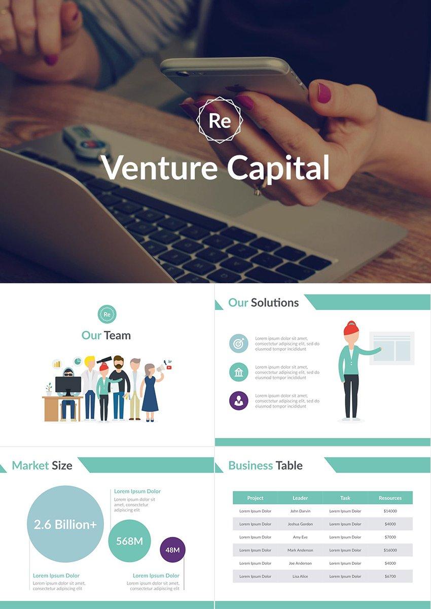 Startup Pitch Deck Business Plan Presentations