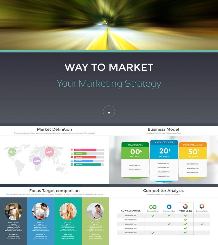Startup Pitch PowerPoint Investor Deck