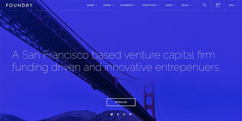Foundry WordPress Theme