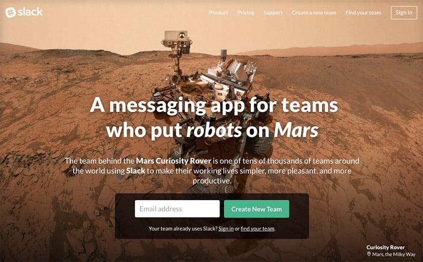 Slack Business Communication Productivity App