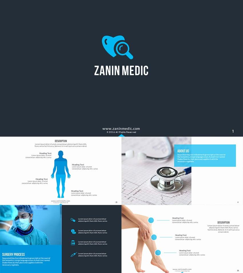 Zanin Medic PowerPoint Presentation Template