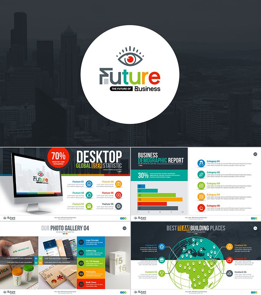 Future Business PowerPoint Presentation Template