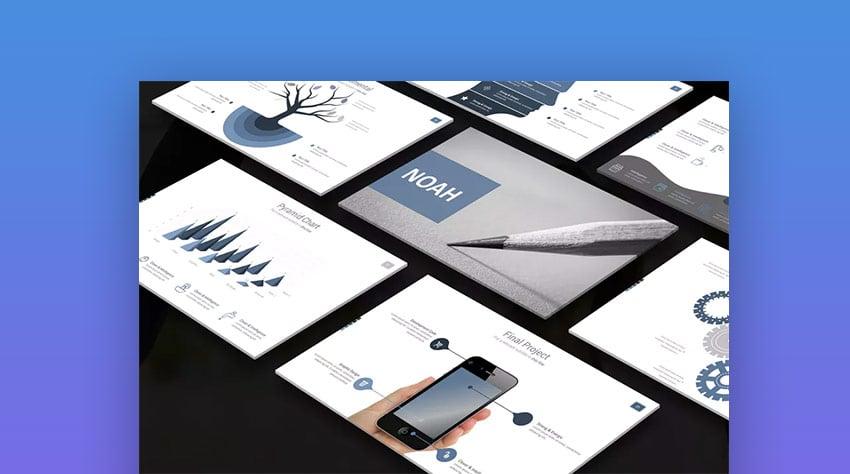 Noah Business PowerPoint-Vorlagen