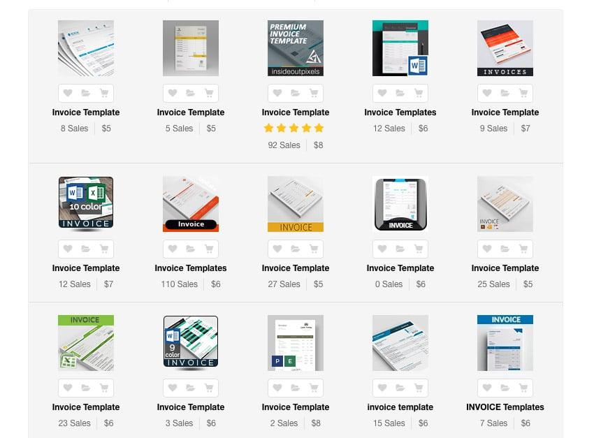 Simple Microsoft Word Invoice Templates