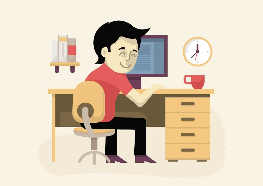 Working on Freelance Resume