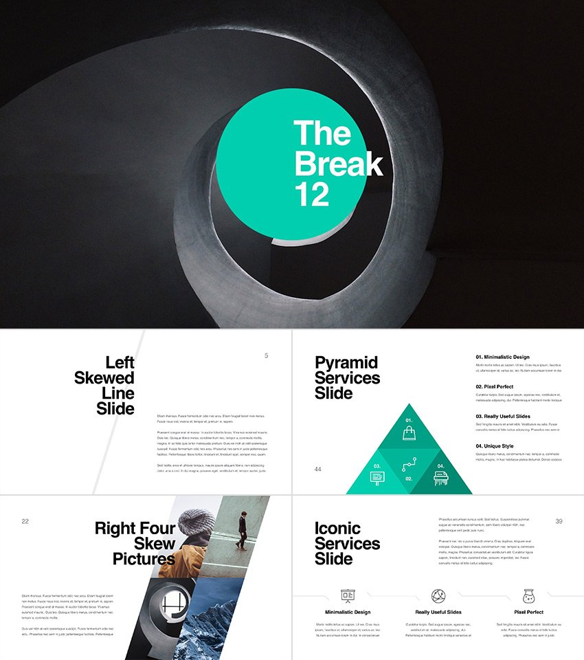 Kaspian Mulitpurpose PowerPoint Presentation Theme Design
