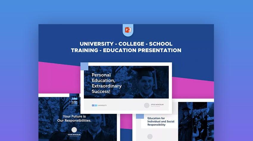 University PowerPoint Template