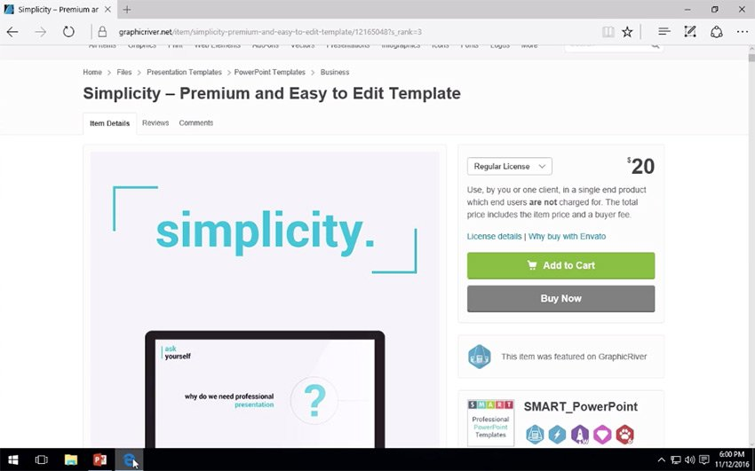 How to download and install the Simplicity PowerPoint template