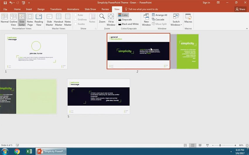 Move Your PowerPoint Slide order