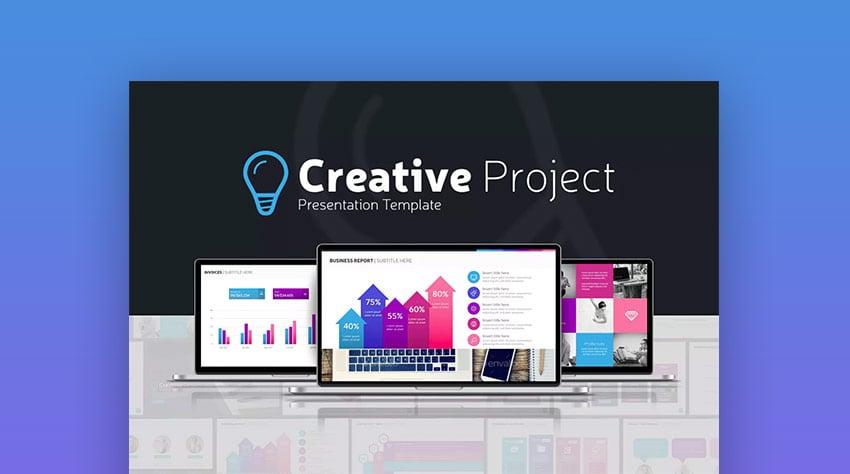 Creative Project - Plantilla Interactiva de PowerPoint