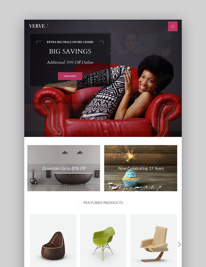 Verve - MultiConcept BigCommerce 2017 Site Theme