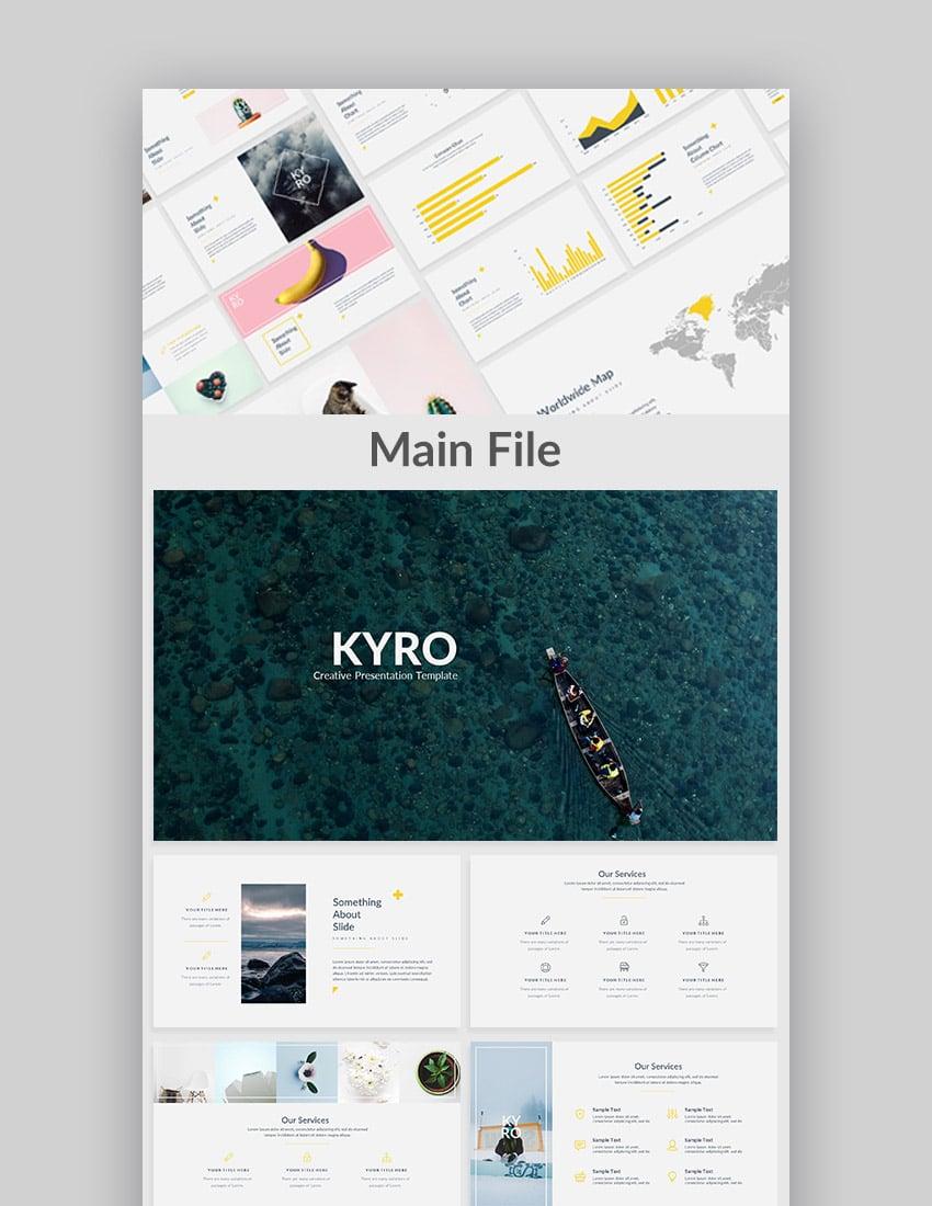 Kyro Cool Google Slide Präsentations Theme Design