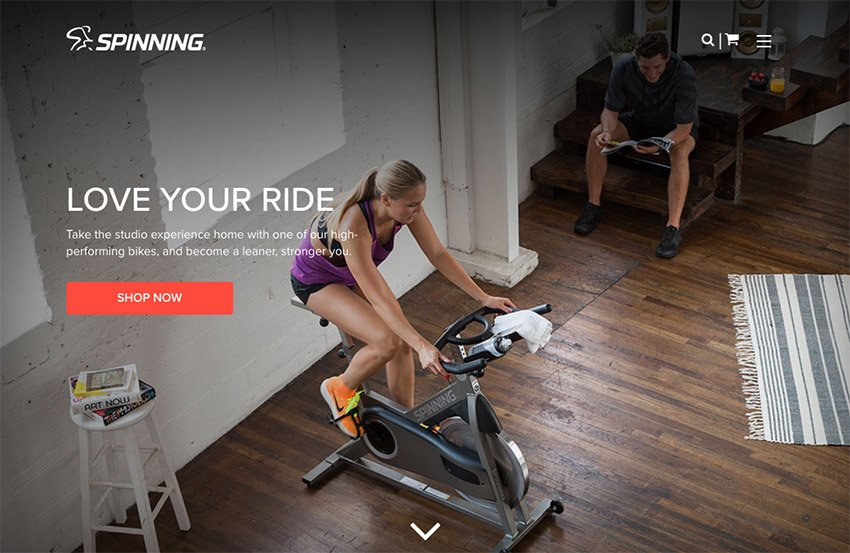 Spinning cycles are a popular niche product sold online