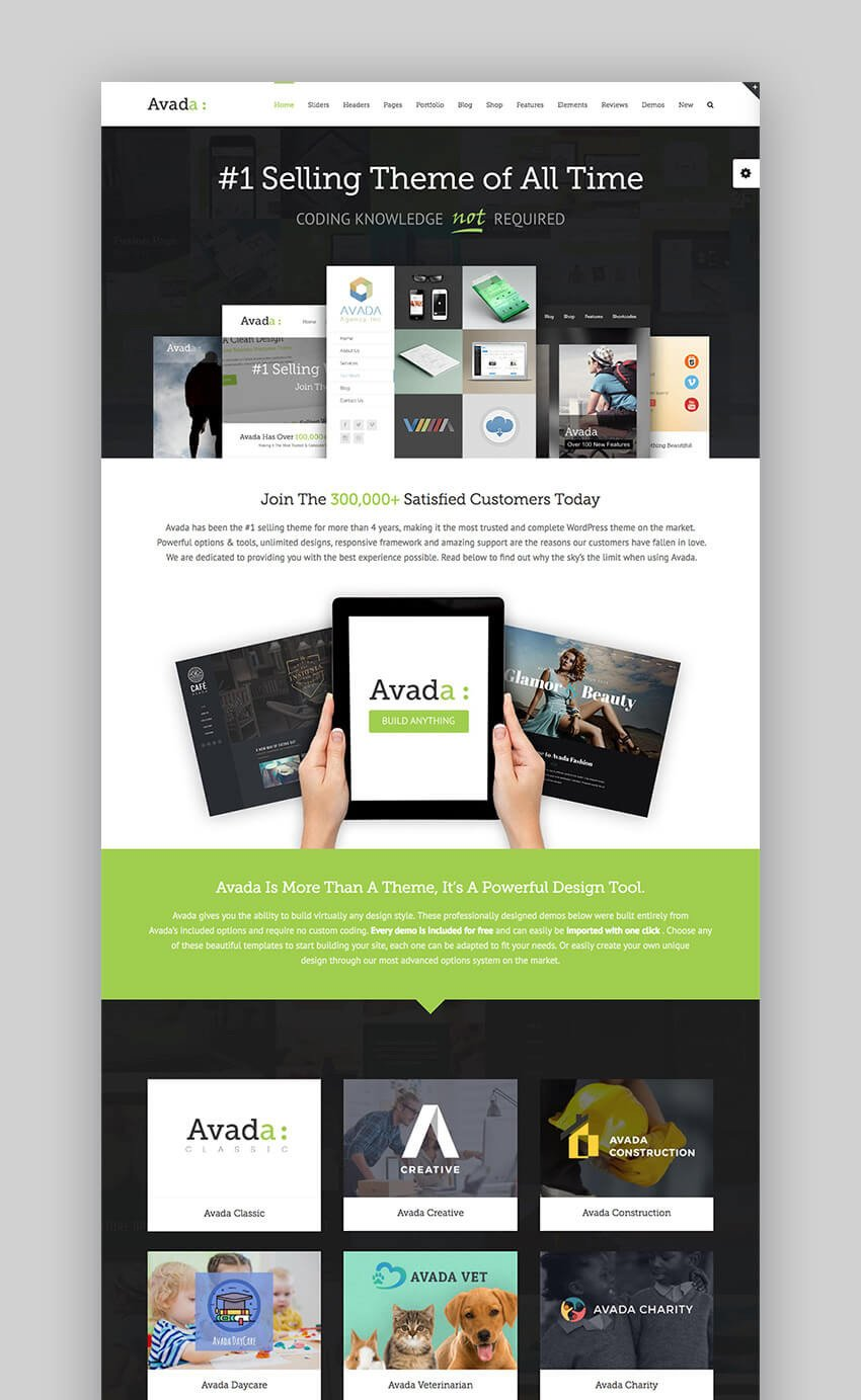 Avada The Best Premium WordPress Theme