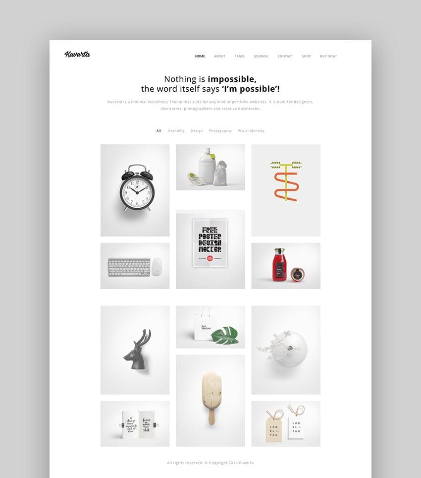 Kuverta Easy-to-Customize Quickly WordPress Theme