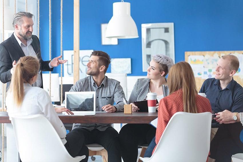 Small business employee training