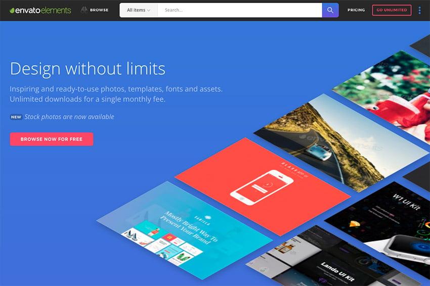 Envato Elements - Design without limits
