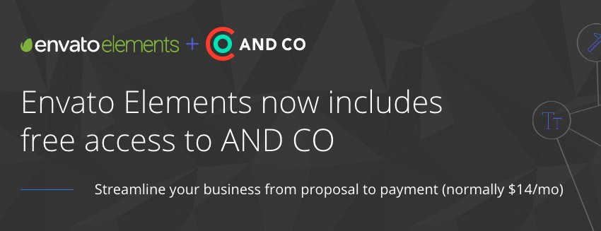 Envato Elements AND CO offer