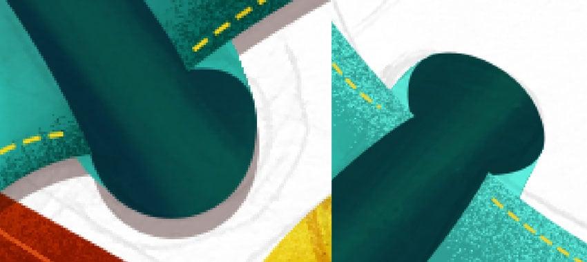 Adding ribbons details
