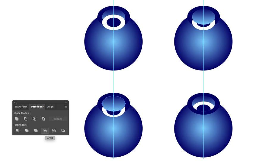 Using Pathfinder in Adobe Illustrator