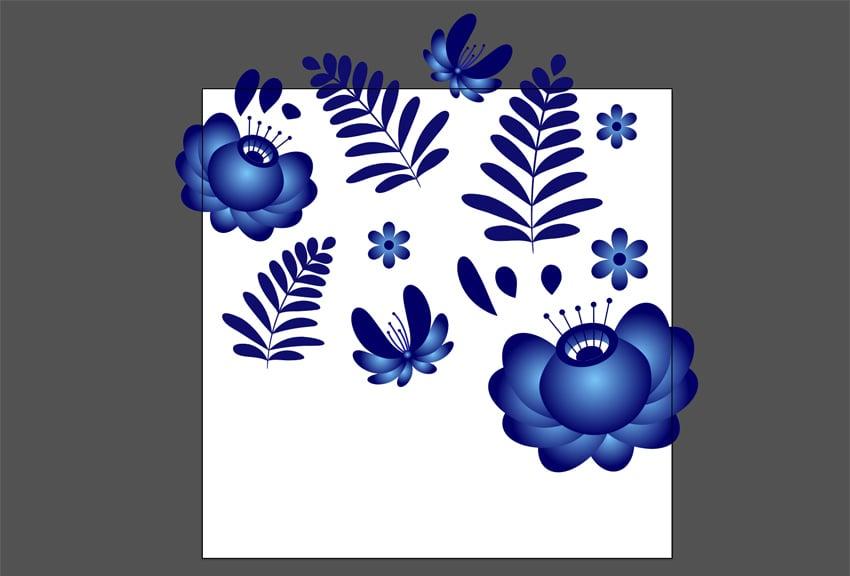 Arrange pattern