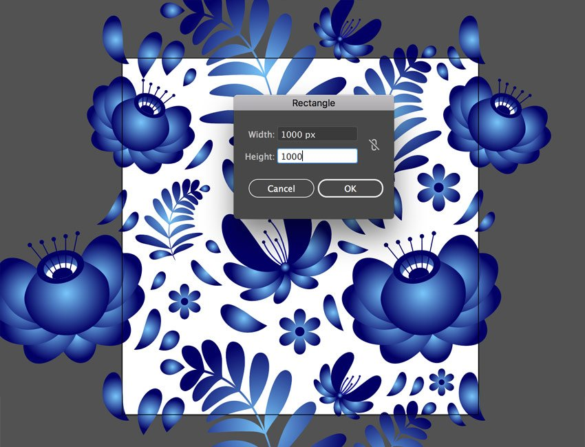 Create background square