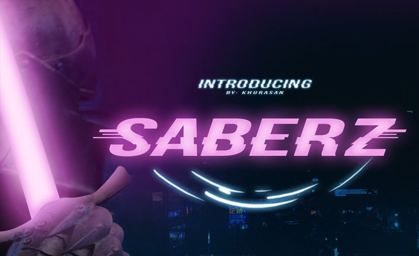 Saberz Font