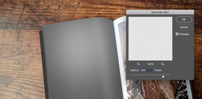 Gaussian Blur in Adobe Photoshop