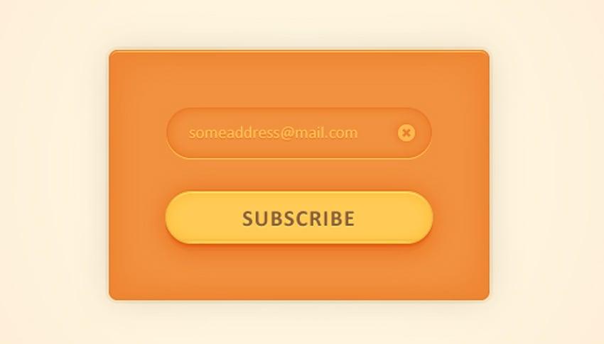 Create a Simple Subscription Web Element in Adobe Illustrator