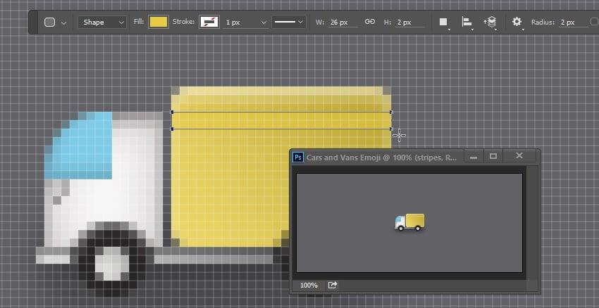 Draw rectangle