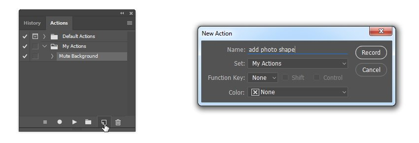 Add new action