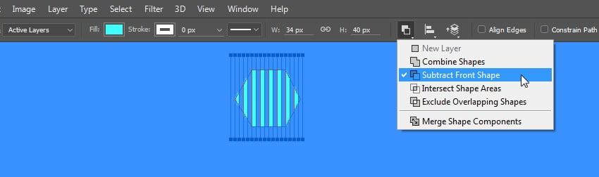 Make a hexagon shape