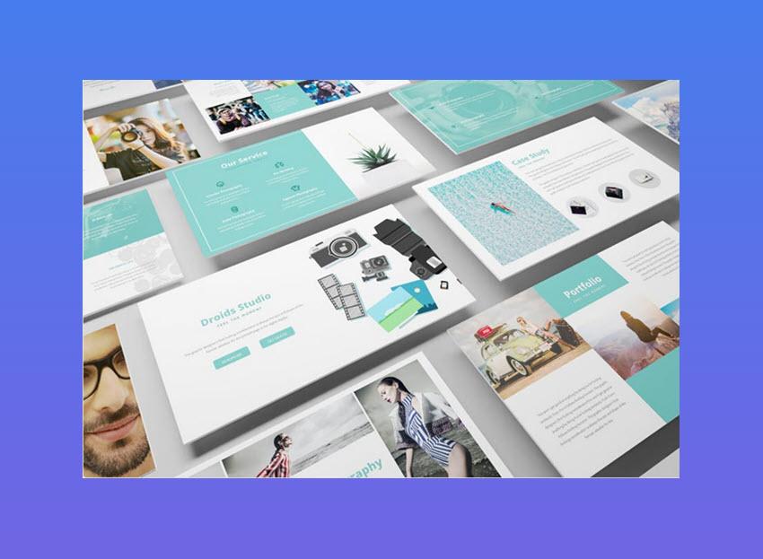 Photography Google Slide Template