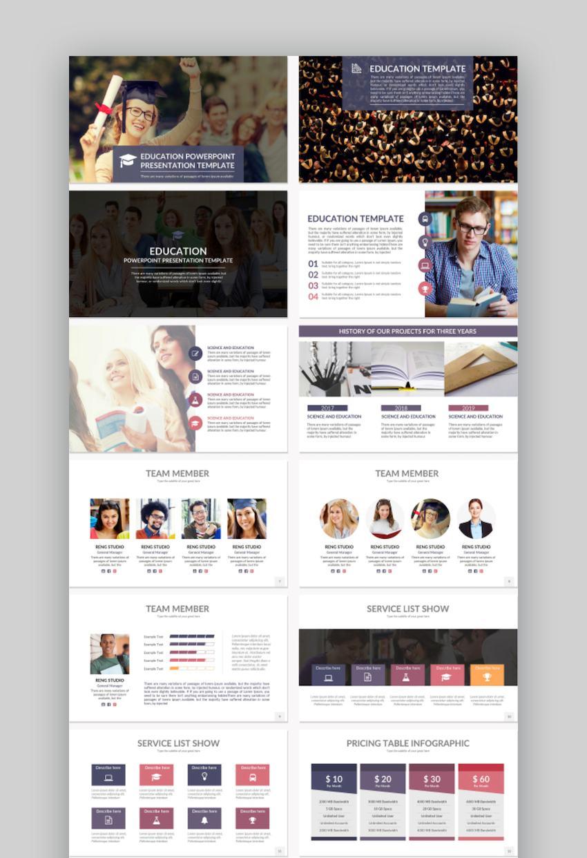 Education Google Slides Presentation Template