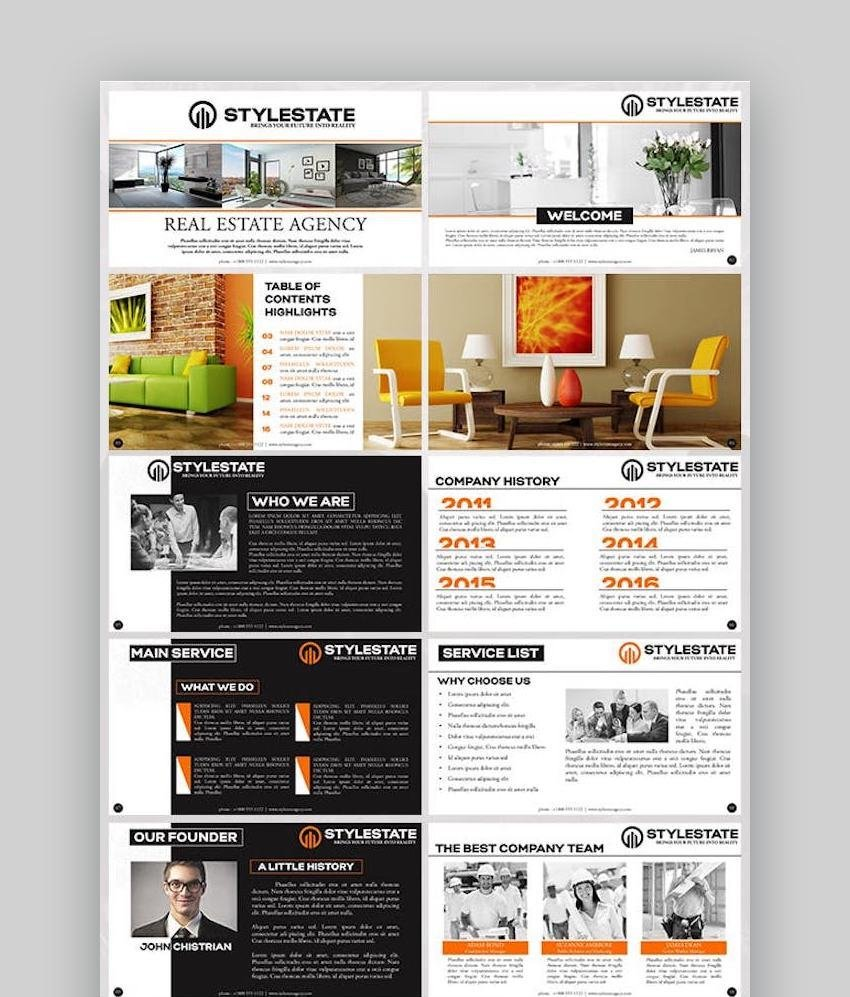 Stylestate Real Estate Agency Presentation Template
