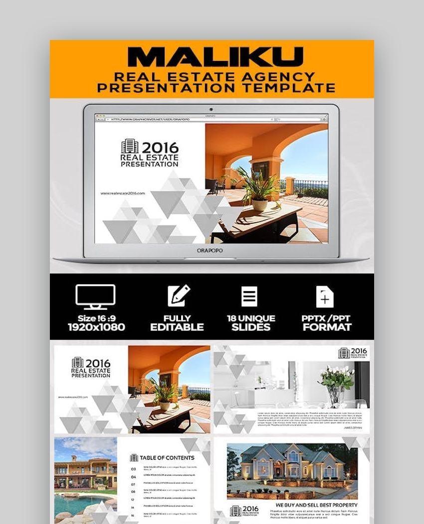 Maliku Real Estate Presentation