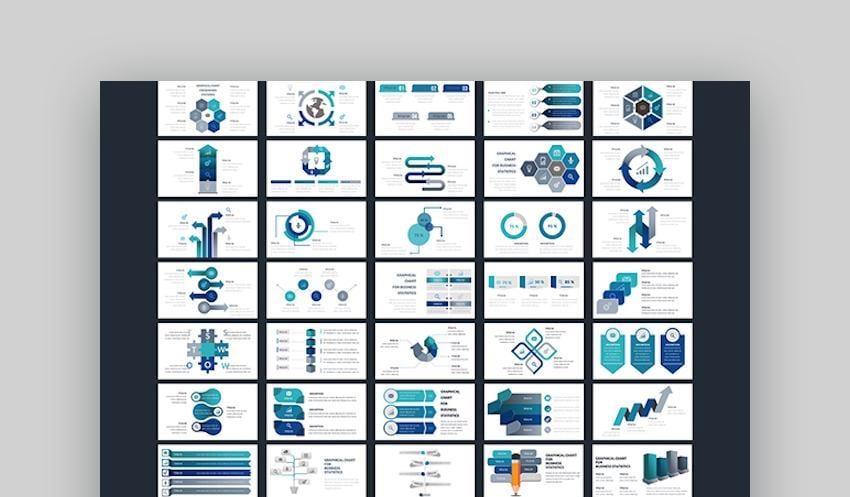 Google Slides Diagrams - Timeline